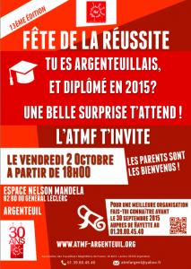 Fête de la réussite de l'ATMF Argenteuil