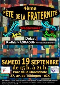 Fête de la Fraternité à Aix