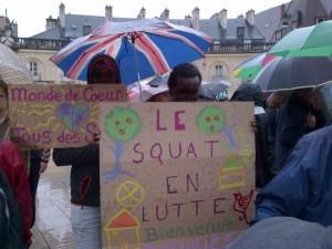A Dijon comme à Calais, l'expulsion ne sera jamais une solution