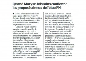 L'ATMF  Aix en Provence est attaquée par le FN…