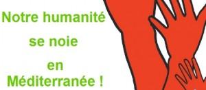 Notre humanité se noie en Méditerranée – Rendez-vous à 11h à Strasbourg