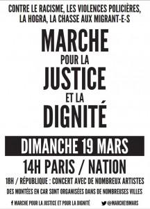 Marche pour la JUSTICE et le DIGNITÉ