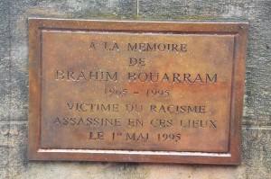 Rassemblement à la mémoire de Brahim Bouarram et de toutes les victimes de crimes racistes