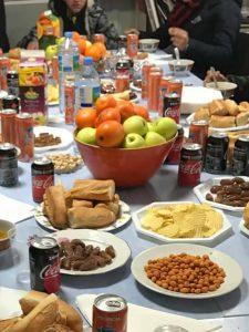 Une réception pour les jeunes mineurs marocains