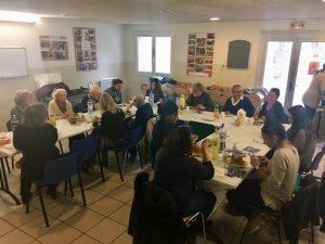 Une rencontre avec les bénévoles de l'ATMF d'Aix en Provence