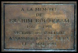 À la mémoire de  Brahim Bouarram et de toutes les victimes de crimes racistes