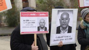 Un Algérien de 69 ans, tué par la police française à Argenteuil en 2009.