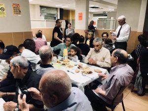 Iftar au foyer Adoma