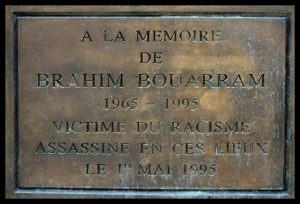 A la mémoire de Brahim Bouarram et de toutes les victimes de crimes racistes