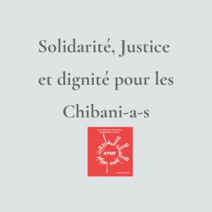 Solidarité, Justice et dignité pour les Chibani-a-s