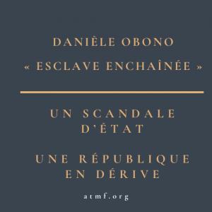 DANIÈLE OBONO : communiqué de l'ATMF