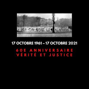 17 octobre 1961 – 17 octobre 2021, 60e anniversaire