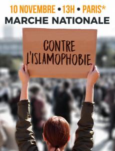 Pour une manifestation massive contre l'Islamophobie – 10.11.2019 à Paris