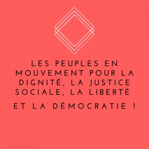 Les peuples en mouvement : rencontre débat et soirée interculturelle à Aix en Provence
