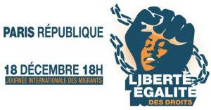 Journée internationale des migrant-e-s 18 décembre